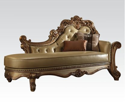 Picture of Vendome Gold Patina Chaise