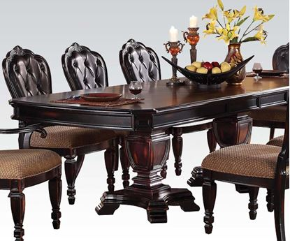 Picture of Modern Le Havre Two Tone Brown Dining Table