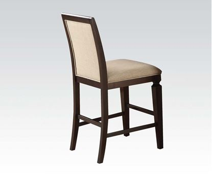 Picture of Agatha 2 Pcs. Espresso Finish  Counter Height Chair    (Set of 2)