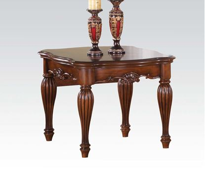 Picture of Traditional Cherry Finish Occasional End Table