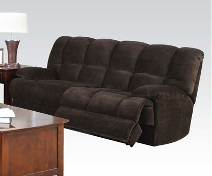 Picture of Ahearn Chocolate Champion Fabric Sofa