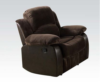 Picture of Masaccio Brown Champion & PU Recliner Chair