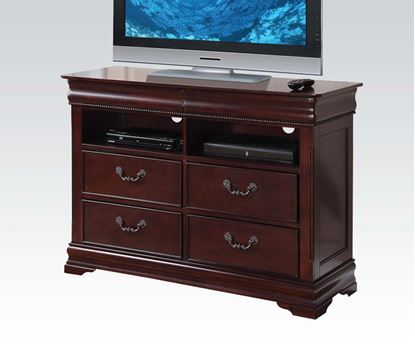 Picture of Gwyneth Cherry Finish Media Chest