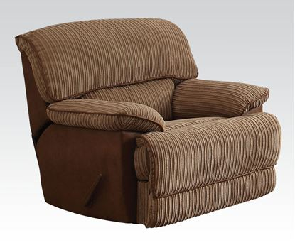 Picture of Malvern Light Brown Fabric Motion Chair