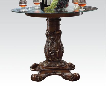 Picture of Vendome Cherry/Glass Traditional Counter Height Dining Table