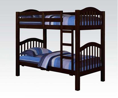 Picture of Heartland Espresso Twin / Twin Bunk Bed