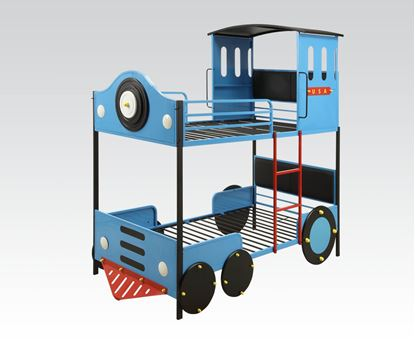 Picture of Blue Train Bunkbed