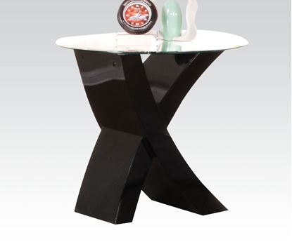 Picture of Black Finish end Table