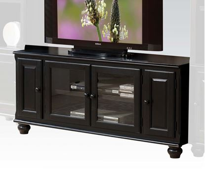 Picture of Ferla Black Finish TV Stand