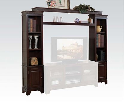 Picture of Halden Wall Unit in Merlot