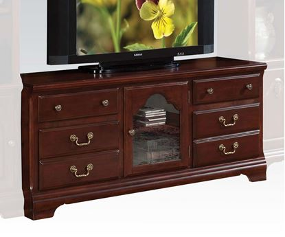 Picture of Hercules Cherry Finish TV Stand