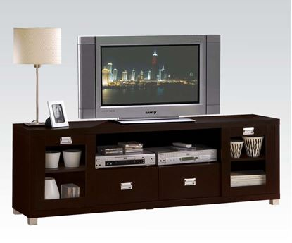 Picture of Commerce Entertainment Console TV Stand in Espresso Finish