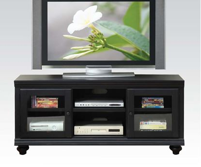 Picture of Barra TV Stand in Black Finish