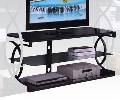 Picture of Milo Sandy Black Entertainment TV Stand