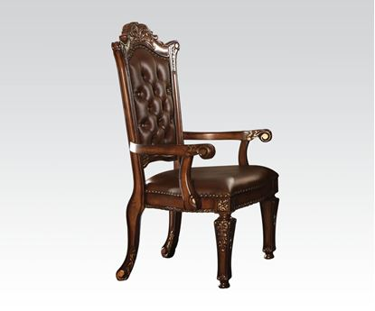 Picture of Traditional Vendome Cherry Finish Office Chair