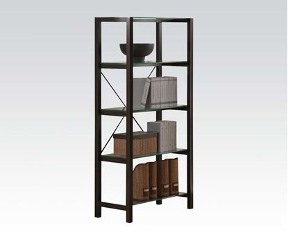Picture of Loakin Home Office Bookcase in Wenge Finish