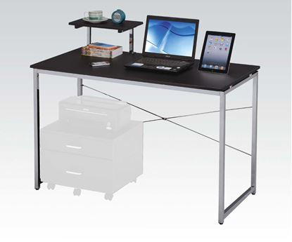 Picture of Ellis Black Finish Computer Desk