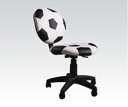 Picture of Maya Soccer Pattern Theme Air Lift Office Chair