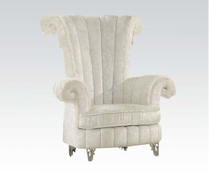 Picture of White Accent Chair