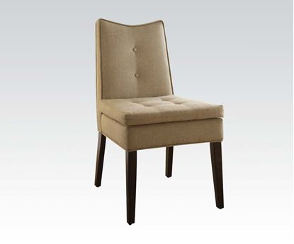 Picture of Linen Accent Chair  W/P2 (Ista 3A)  (Set of 2)