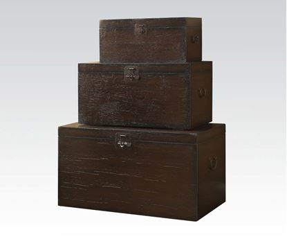 Picture of 3Pc Pk Accent Storage Boxes W/P2