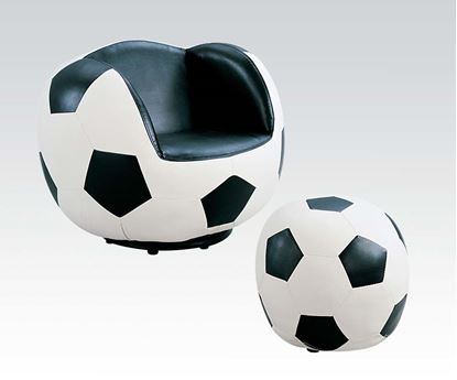 Picture of Allstar II Soccer Chair and Ottoman Set