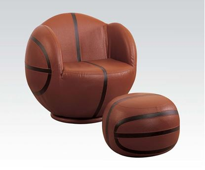 Picture of Allstar Basketball Chair & Ottoman