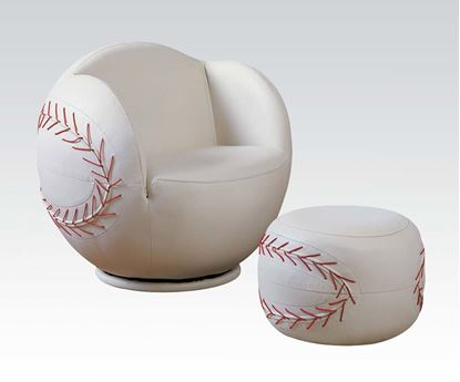 Picture of Allstar II Baseball Chair and Ottoman Set