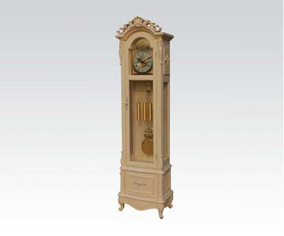 Picture of Antique White Grandfather Clock  W/P2