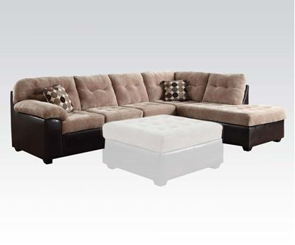 Picture of Layce Camel Champion Fabric Sectional Sofa Set