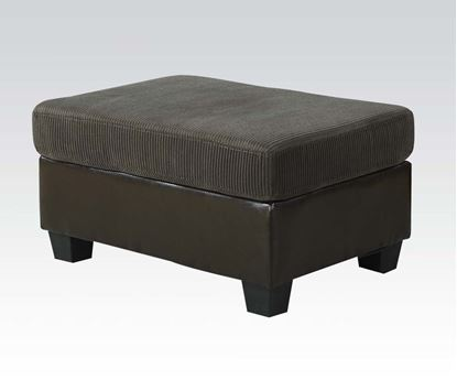 Picture of Connell Contemporary Dark Gray Ottoman  55945