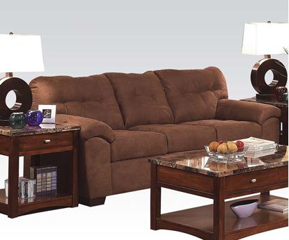 Picture of Aislin Contemporary Espresso Sofa