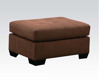 Picture of Aislin Contemporary Espresso Ottoman