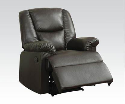 Picture of Brown Pu Recliner