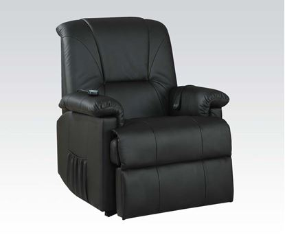 Picture of Black Pu Electric Lift Chair  W/P2