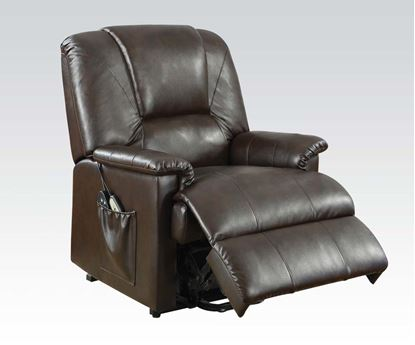 Picture of Brown Pu Electric Lift Chair  W/P2 (Two Tones)