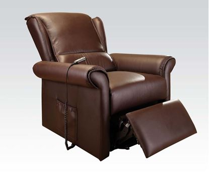 Picture of Dark Brown Pu Electric Lift Chair  W/P2 (2Ctns)