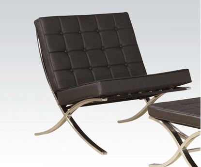 Picture of Black Accent Chair  W/P2