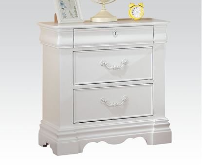 Picture of Estrella White Finish Night Stand