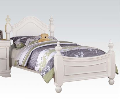 Picture of Classique White Finish Youth Full Size Bed