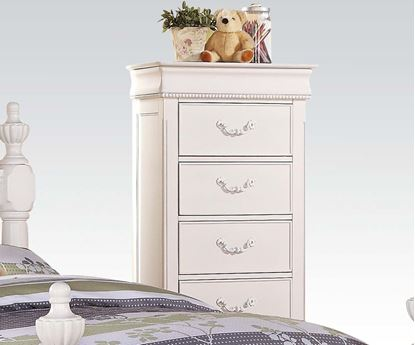 Picture of Classique White Finish Youth Bedroom Chest