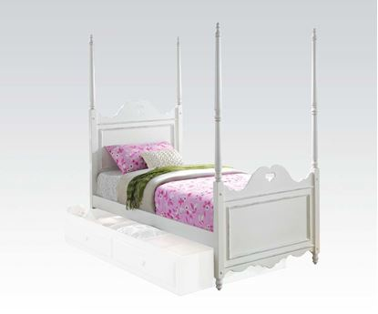 Picture of Sweetheart White Finish Youth Full Bed