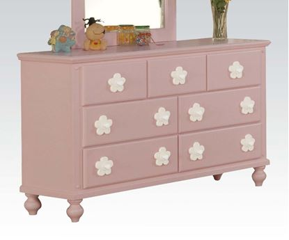 Picture of Floresville Pink w/ White Flower Dresser