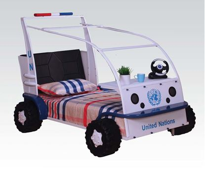 Picture of Car Style Twin Youth Bed  W/P2