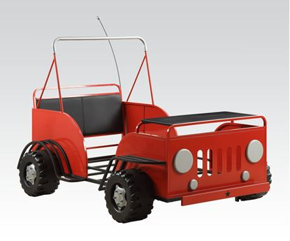 Picture of Red Car Youth Bed  W/P2