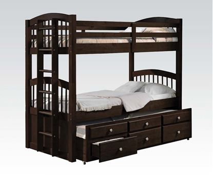 Picture of Micah Twin over Twin Bunk Bed with Trundle