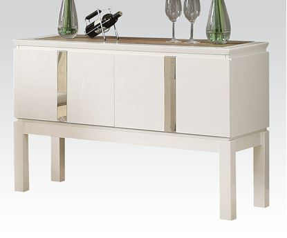 Picture of Kilee Collection White Finish Server