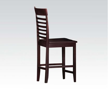 Picture of Ebonny Ladder Back 2 Pcs. Counter Height Chairs  (Set of 2)