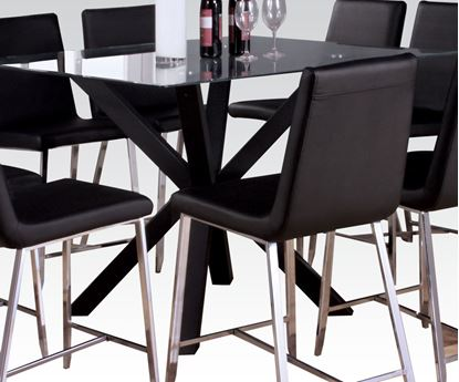 Picture of Lenia Counter Height Table with Glass Top