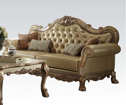 Picture of Dresden Gold Living Room Sofa